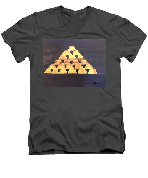 Tax Men's V-Neck T-Shirt by Joshua Maddison