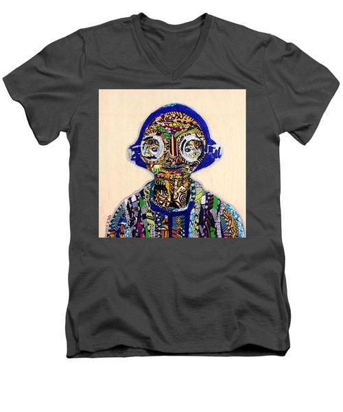 Maz Kanata Star Wars Awakens Afrofuturist Colection Men's V-Neck T-Shirt