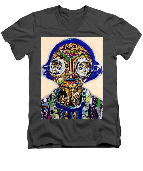 Maz Kanata Star Wars Awakens Afrofuturist Colection Men's V-Neck T-Shirt