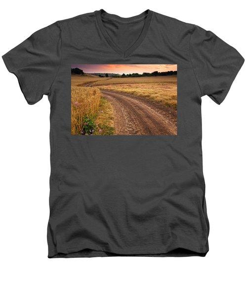 Mazzy Road Men's V-Neck T-Shirt