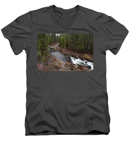 Mccloud River Men's V-Neck T-Shirt