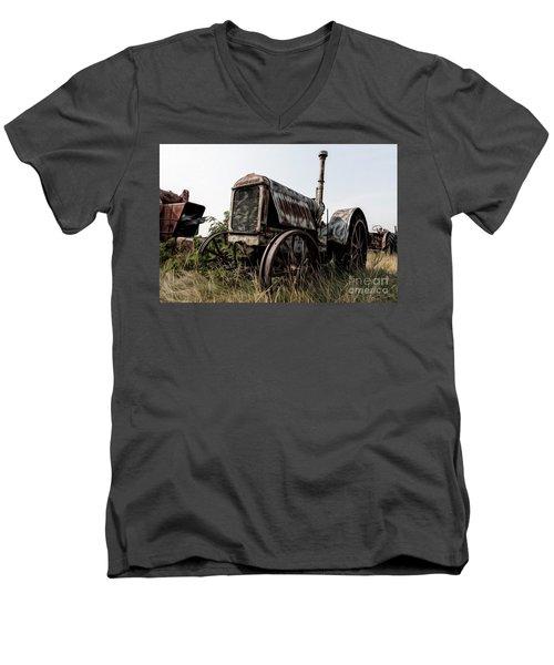 Mccormick-deering Men's V-Neck T-Shirt