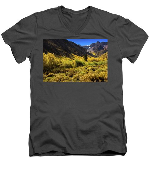 Mcgee Creek Alive With Color Men's V-Neck T-Shirt