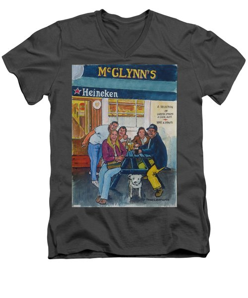 Amber At Mcglynn's Pub In London, England Men's V-Neck T-Shirt