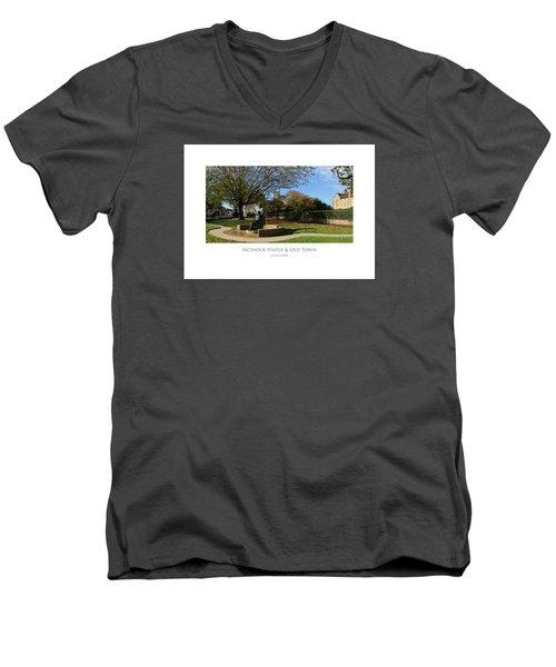Mcindoe Statue Men's V-Neck T-Shirt