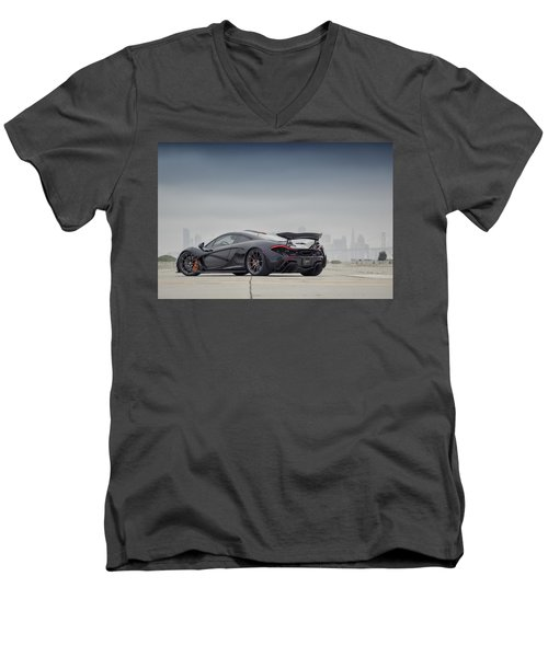 #mclaren Mso #p1 Men's V-Neck T-Shirt