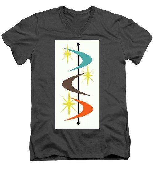 Mcm Shapes 2 Men's V-Neck T-Shirt