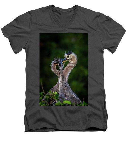 Me Too Men's V-Neck T-Shirt