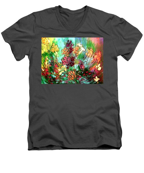 Meadow Garden Men's V-Neck T-Shirt
