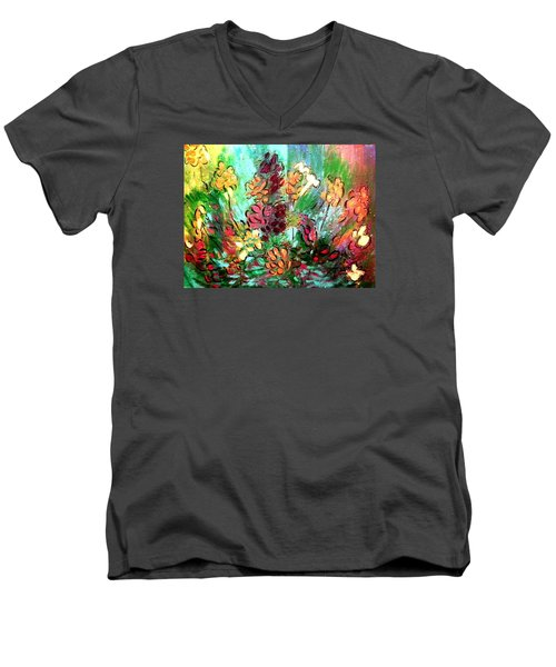 Meadow Garden Men's V-Neck T-Shirt