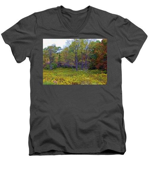 Meadow Of Gold Men's V-Neck T-Shirt