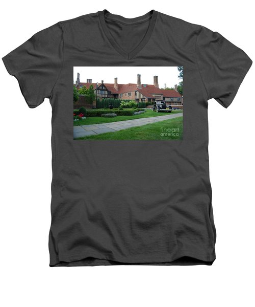 Meadowbrook Hall Men's V-Neck T-Shirt