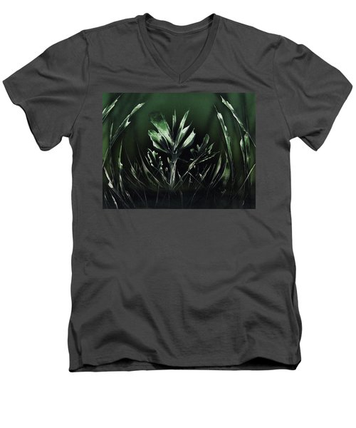 Mean Green Men's V-Neck T-Shirt