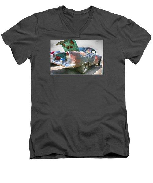 Mean Streets Men's V-Neck T-Shirt