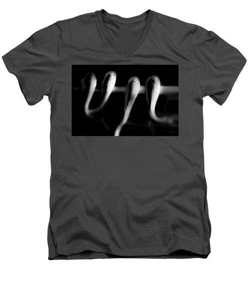Men's V-Neck T-Shirt featuring the photograph Mechanical Seeds by Joseph Westrupp