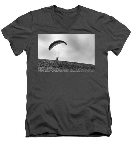 No Men's V-Neck T-Shirt