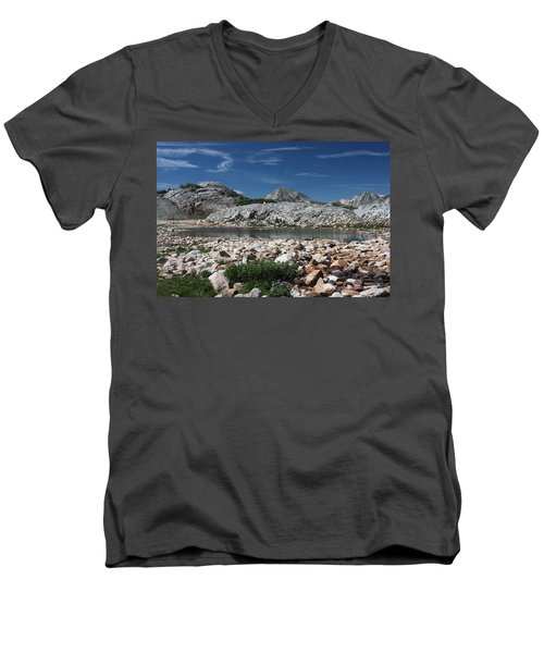 Medicine Bow Vista Men's V-Neck T-Shirt
