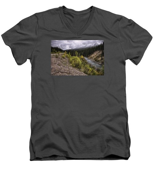 Medicine Delta Men's V-Neck T-Shirt by John Gilbert