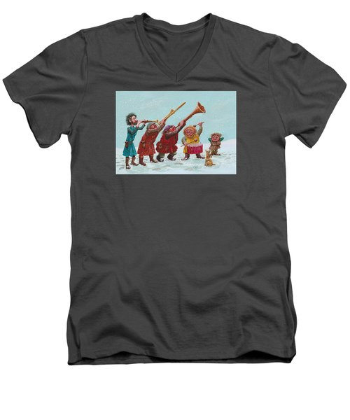 Medieval Merriment Men's V-Neck T-Shirt