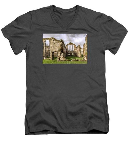 Medieval Ruins Men's V-Neck T-Shirt