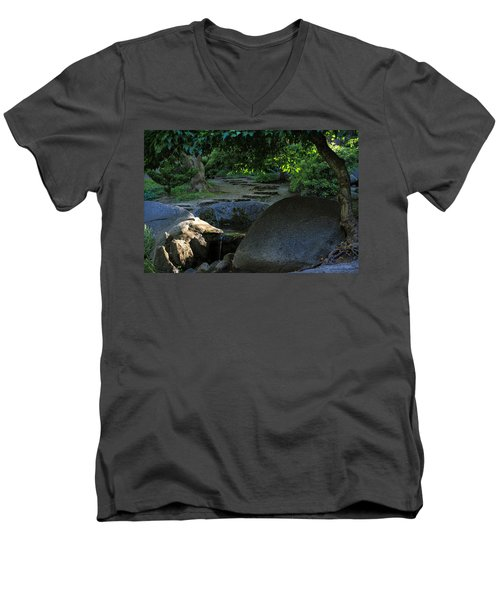 Meditation Path Men's V-Neck T-Shirt