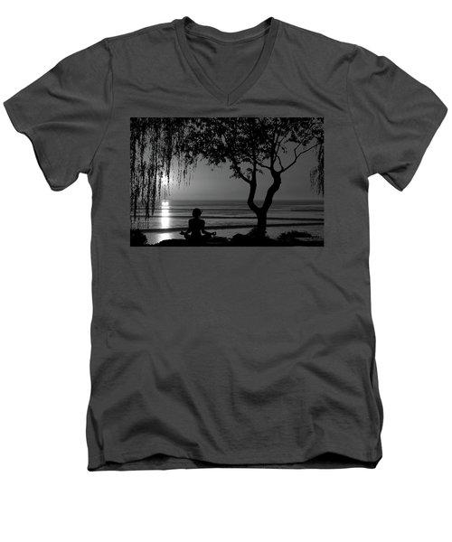 Meditative State Men's V-Neck T-Shirt