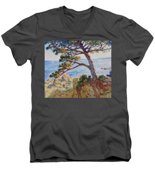 Mediterranean Sea Men's V-Neck T-Shirt