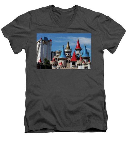 Medival Castle Men's V-Neck T-Shirt