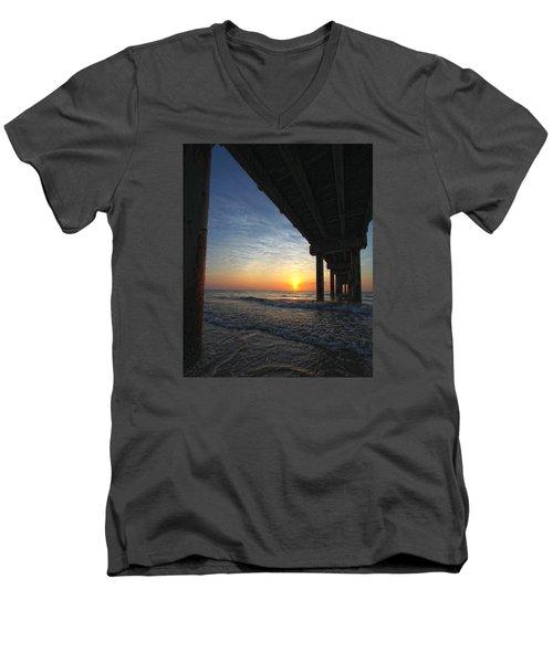 Meeting The Dawn Men's V-Neck T-Shirt