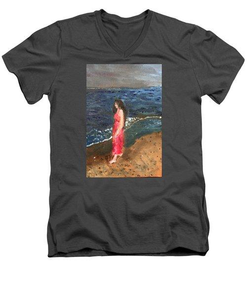 Melancholy Men's V-Neck T-Shirt