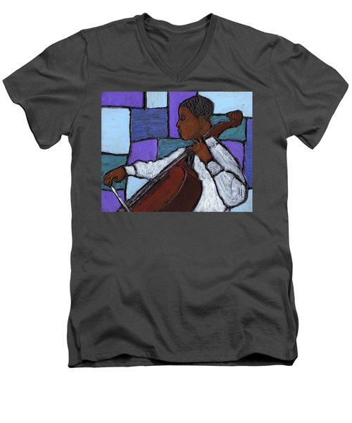 Mellow Blues Men's V-Neck T-Shirt