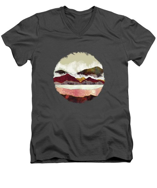 Melon Mountains Men's V-Neck T-Shirt