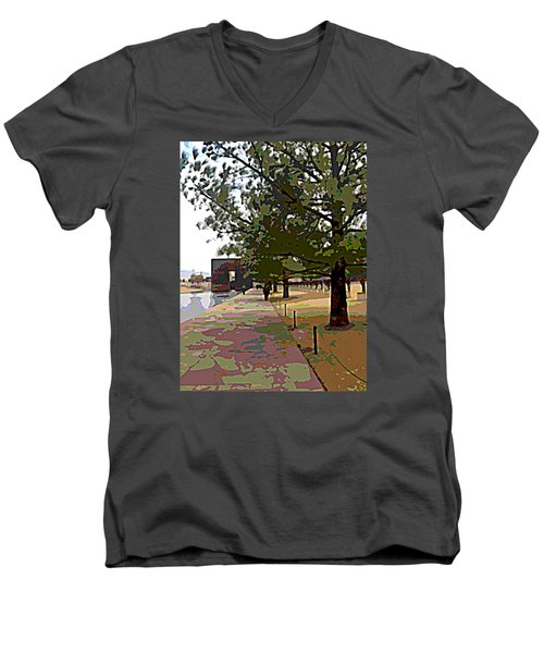 Memorial Men's V-Neck T-Shirt