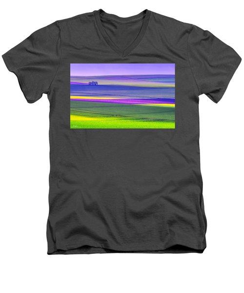 Memories Of Colors Men's V-Neck T-Shirt