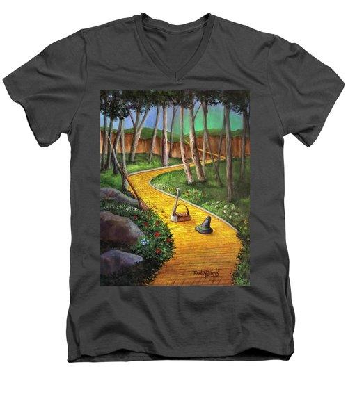Memories Of Oz Men's V-Neck T-Shirt