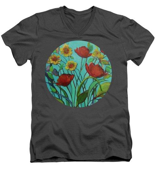 Memories Of The Meadow Men's V-Neck T-Shirt