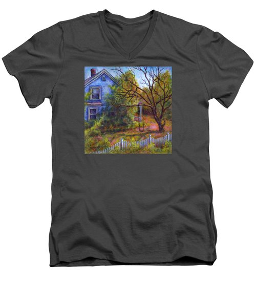 Memories Men's V-Neck T-Shirt by Retta Stephenson