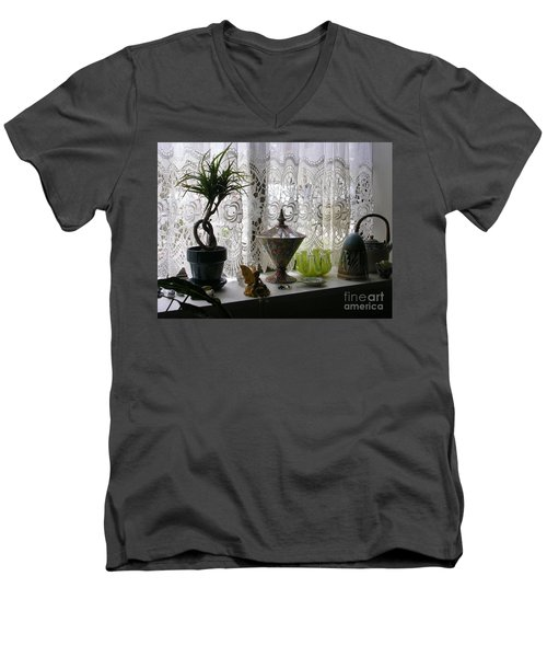 Memories Men's V-Neck T-Shirt