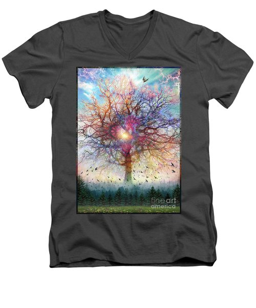 Memory Of A Tree Men's V-Neck T-Shirt