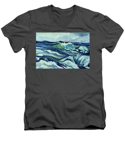 Memory Of The Ocean Men's V-Neck T-Shirt