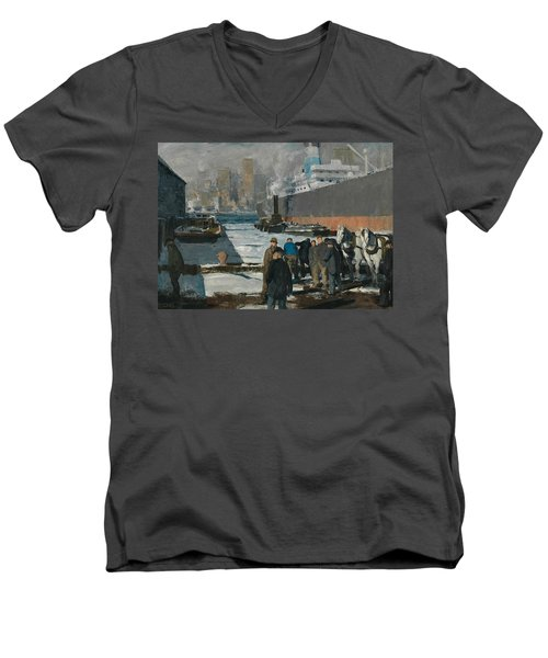 Men Of The Docks Men's V-Neck T-Shirt