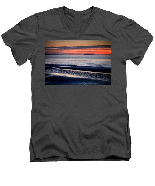 Menai Strait Men's V-Neck T-Shirt