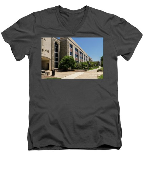 Mendel Hall Men's V-Neck T-Shirt