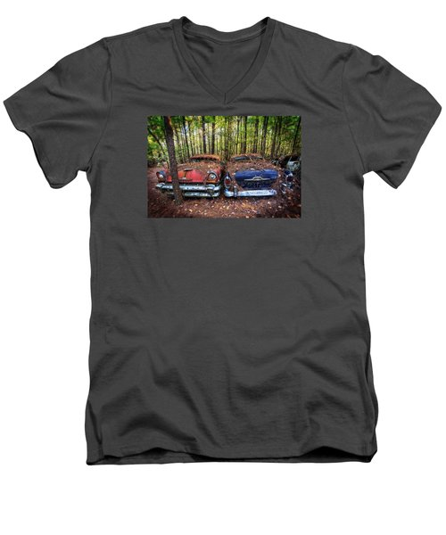 Mercury X Two Men's V-Neck T-Shirt