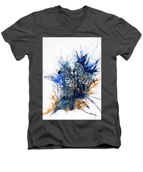 Merging With Shadows Men's V-Neck T-Shirt