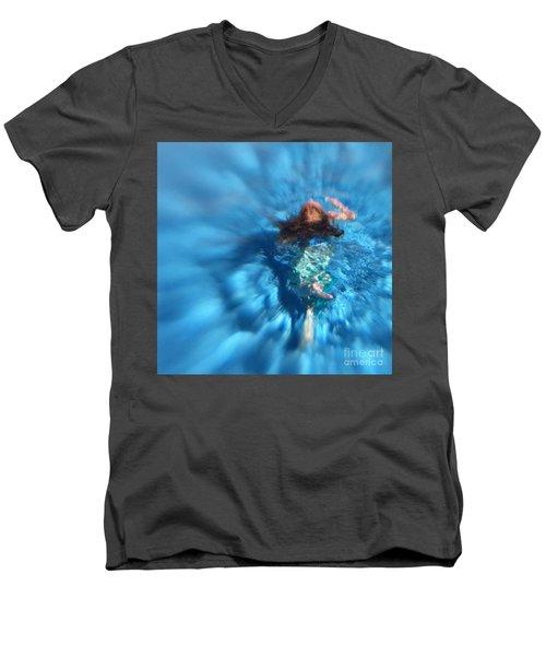 Mermaid Caroline Men's V-Neck T-Shirt