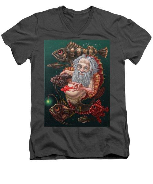 Merman Men's V-Neck T-Shirt