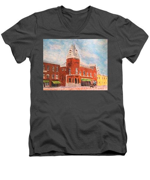 Merrimac Massachusetts Men's V-Neck T-Shirt