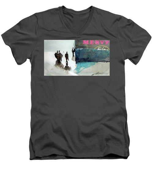 Mervy Men's V-Neck T-Shirt