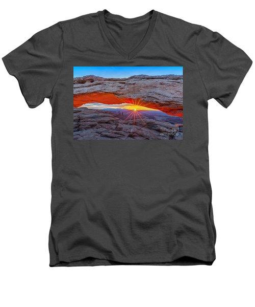 Mesa Morning  Men's V-Neck T-Shirt